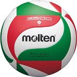 MOLTEN Bola Voli Size 5 [V5M3500] - White/Red/Green - Bola Voli